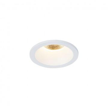 Встраиваемый светодиодный светильник Maytoni Yin DL034-2-L12W, IP65, LED 12W 3000K 1000lm CRI80, белый, металл