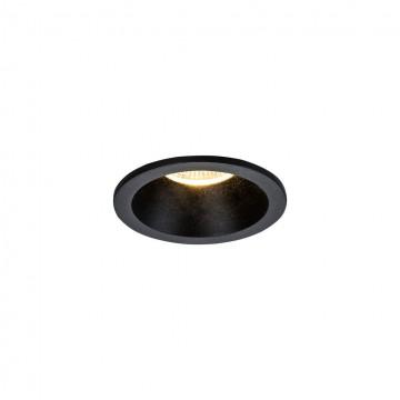 Встраиваемый светильник Maytoni Yin DL034-2-L8B, IP65 3000K (теплый), черный, металл