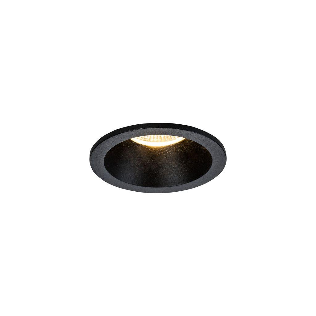 Встраиваемый светильник Maytoni Yin DL034-2-L8B, IP65 3000K (теплый), черный, металл - фото 1