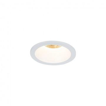 Встраиваемый светильник Maytoni Yin DL034-2-L8W, IP65 3000K (теплый), белый, металл