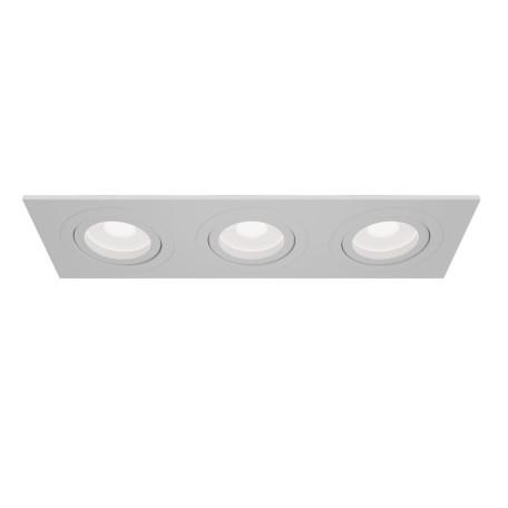 Встраиваемый светильник Maytoni Technical Atom DL024-2-03W, 3xGU10x50W, белый, металл