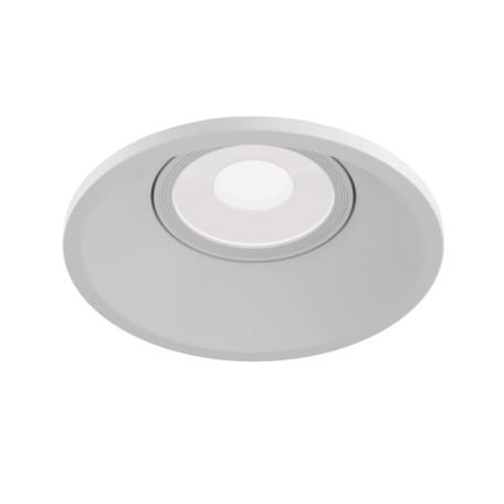 Встраиваемый светильник Maytoni Dot DL028-2-01W, 1xGU10x50W, белый, металл