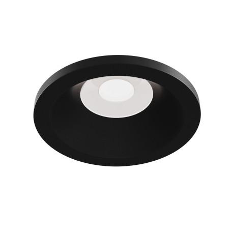 Встраиваемый светильник Maytoni Zoom DL032-2-01B, IP65, 1xGU10x50W, черный, металл