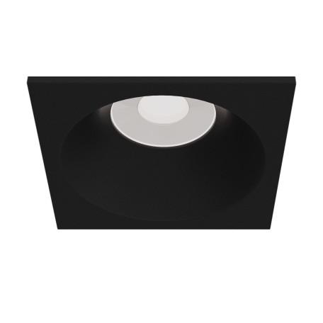 Встраиваемый светильник Maytoni Zoom DL033-2-01B, IP65, 1xGU10x50W, черный, металл