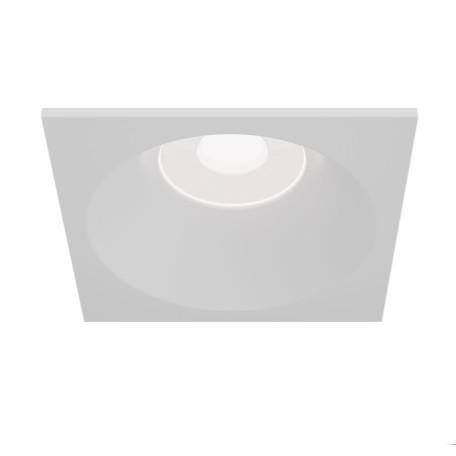 Встраиваемый светильник Maytoni Zoom DL033-2-01W, IP65, 1xGU10x50W, белый, металл