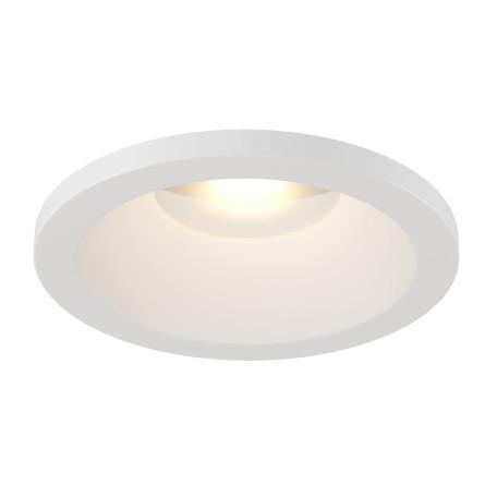 Встраиваемый светодиодный светильник Maytoni Zoom DL034-2-L12W, IP65, LED 12W 3000K 1000lm CRI80, белый, металл