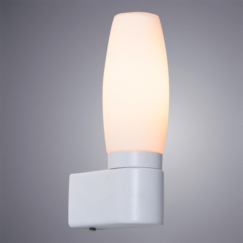 Бра Arte Lamp Aqua A1209AP-1WH, IP44, 1xE14x40W, белый, металл, стекло - фото 2