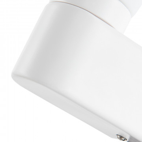 Бра Arte Lamp Aqua A1209AP-1WH, IP44, 1xE14x40W, белый, металл, стекло - миниатюра 3