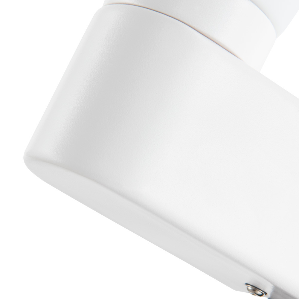 Бра Arte Lamp Aqua A1209AP-1WH, IP44, 1xE14x40W, белый, металл, стекло - фото 3