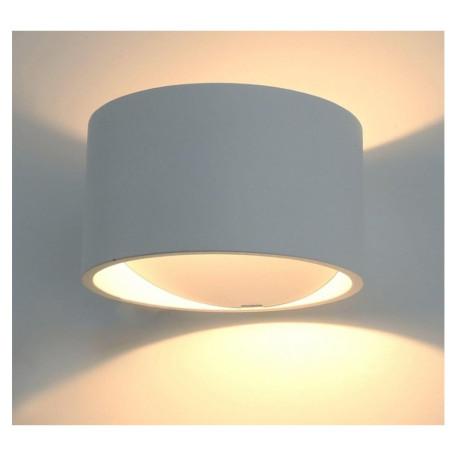 Настенный светодиодный светильник Arte Lamp Instyle Cerchio A1417AP-1GY, LED 5W 3000K 300lm CRI≥80, серый, металл