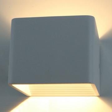 Настенный светодиодный светильник Arte Lamp Instyle Scatola A1423AP-1GY 3000K (теплый), серый, металл