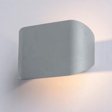 Настенный светодиодный светильник Arte Lamp Instyle Lucciola A1429AP-1GY, LED 3W 3000K 180lm CRI≥80, серый, металл