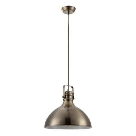 Подвесной светильник Arte Lamp Mark A1102SP-1AB, 1xE14x40W, бронза, металл