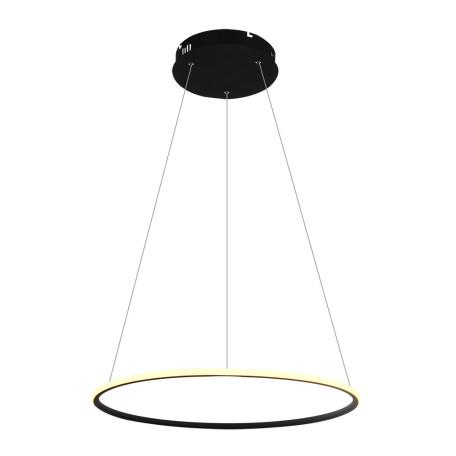 Подвесной светодиодный светильник Arte Lamp Rapid A2500SP-1BK, LED 36W 4000K 2160lm CRI≥80, черный, металл, металл с пластиком, пластик