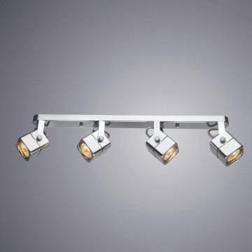 Потолочный светильник с регулировкой направления света Arte Lamp Lente A1314PL-4CC, 4xGU10x50W, хром, металл