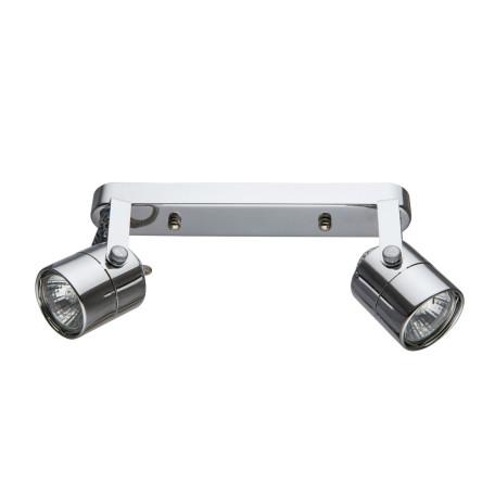 Потолочный светильник с регулировкой направления света Arte Lamp Lente A1310PL-2CC, 2xGU10x50W, хром, металл