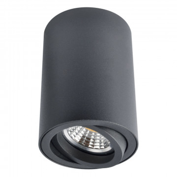 Потолочный светильник Arte Lamp Instyle Sentry A1560PL-1BK, 1xGU10x50W, черный, металл