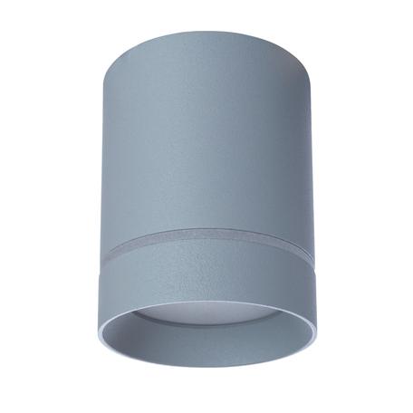 Потолочный светодиодный светильник Arte Lamp Instyle Elle A1909PL-1GY, LED 9W 4000K 450lm CRI≥70, серый, металл, пластик