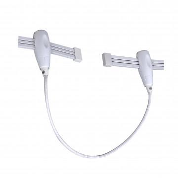 Соединитель для гибкого токопровода Arte Lamp Instyle A152033, белый, пластик