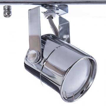 Потолочный светильник с регулировкой направления света Arte Lamp Lente A1310PL-4CC, 4xGU10x50W, хром, металл - миниатюра 3