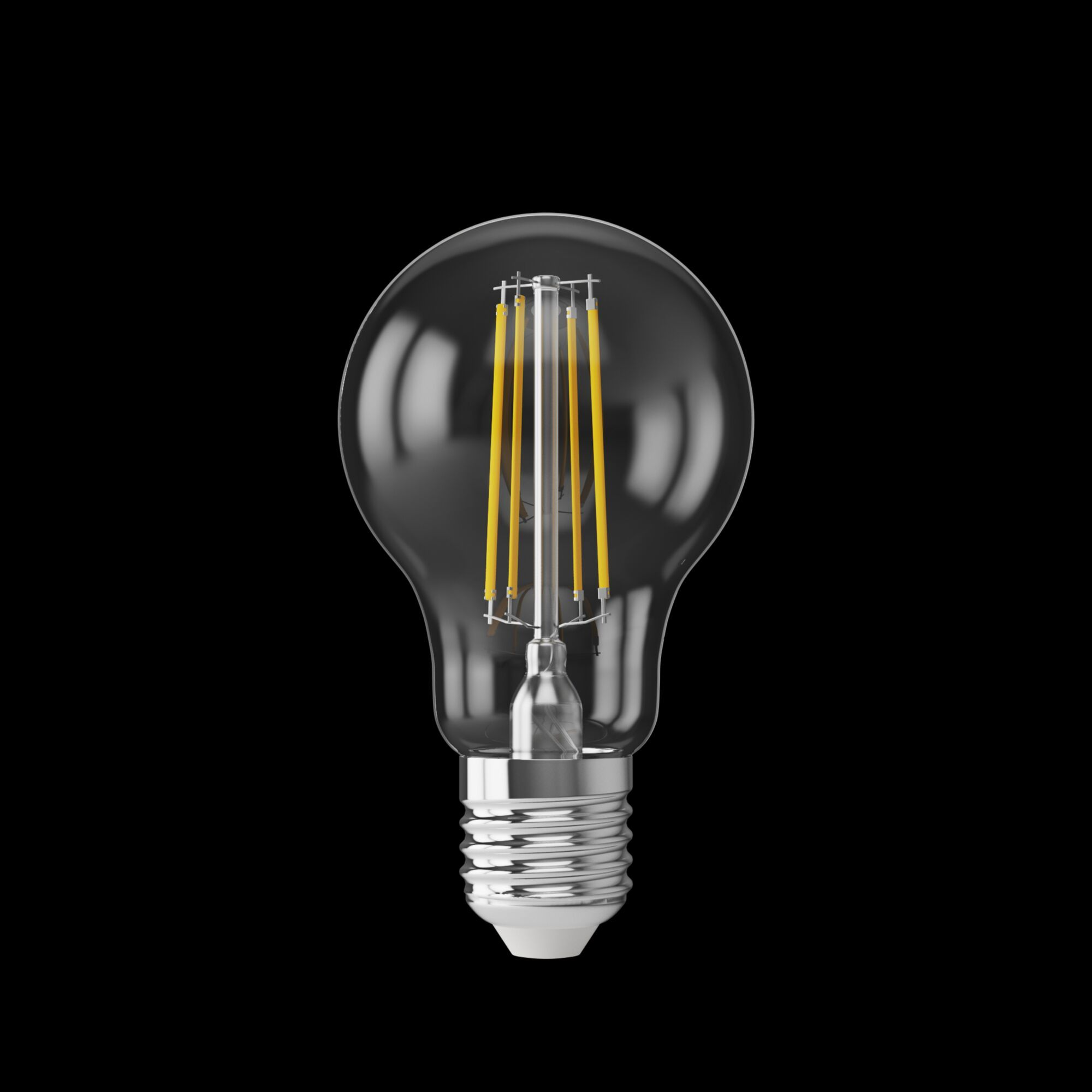 Филаментная светодиодная лампа Voltega VG10-A60E27cold7W-FHR 7155 груша E27 7W, 4000K 220-240V, гарантия 3 года - фото 3