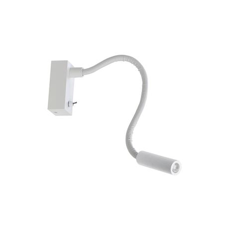 Настенный светодиодный светильник с регулировкой направления света Donolux DL18377/01 White