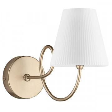 Бра Lightstar Vortico 814613, 1xG9x40W, янтарь, белый, металл, стекло