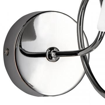 Бра Lightstar Vortico 814614, 1xG9x40W, хром, белый, металл, стекло - миниатюра 3