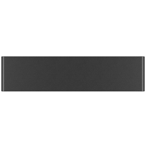 Настенный светодиодный светильник Lightstar Fiume 810517, LED 10W 3000K 950lm, черный, металл - фото 2