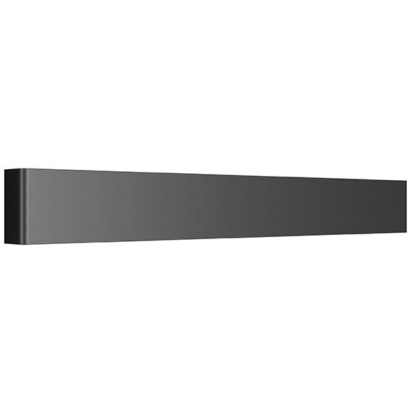Настенный светодиодный светильник Lightstar Fiume 810527, LED 20W 3000K 1900lm, черный, металл - фото 1