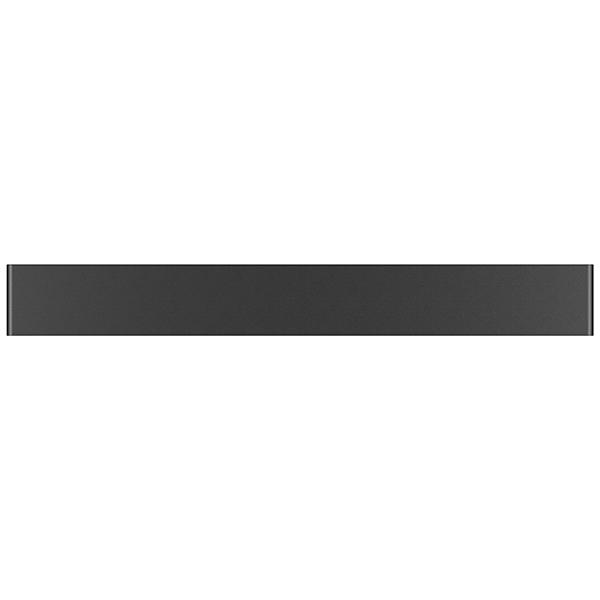 Настенный светодиодный светильник Lightstar Fiume 810527, LED 20W 3000K 1900lm, черный, металл - фото 2
