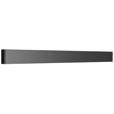 Настенный светодиодный светильник Lightstar Fiume 810537, LED 30W 3000K 2850lm, черный, металл