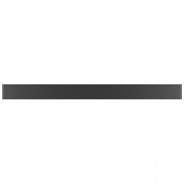 Настенный светодиодный светильник Lightstar Fiume 810537, LED 30W 3000K 2850lm, черный, металл - миниатюра 2