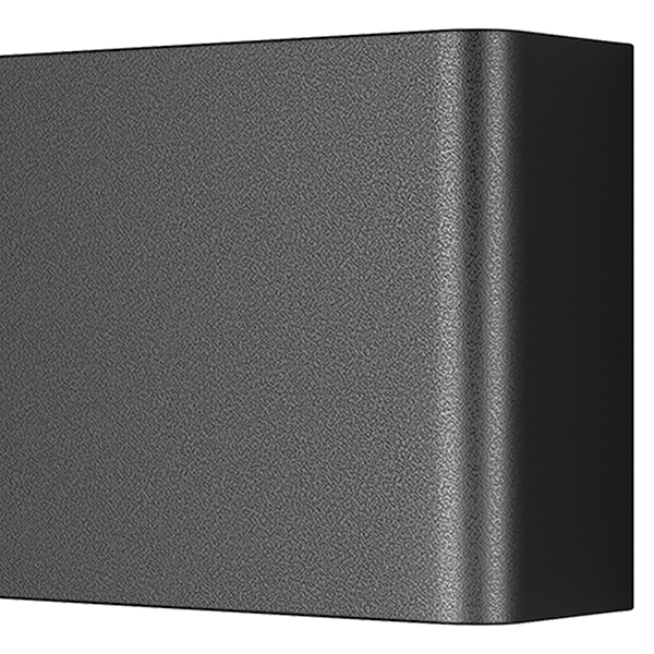 Настенный светодиодный светильник Lightstar Fiume 810537, LED 30W 3000K 2850lm, черный, металл - фото 3
