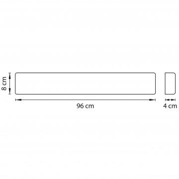 Схема с размерами Lightstar 810537