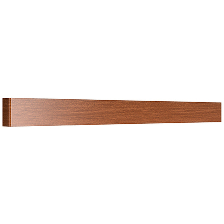 Настенный светодиодный светильник Lightstar Fiume 810538, LED 30W 3000K 2850lm, коричневый, металл