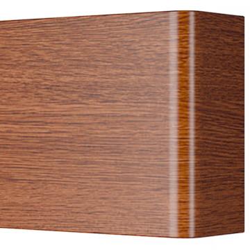 Настенный светодиодный светильник Lightstar Fiume 810538, LED 30W 3000K 2850lm, коричневый, металл - миниатюра 3