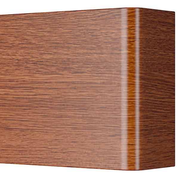 Настенный светодиодный светильник Lightstar Fiume 810538, LED 30W 3000K 2850lm, коричневый, металл - фото 3