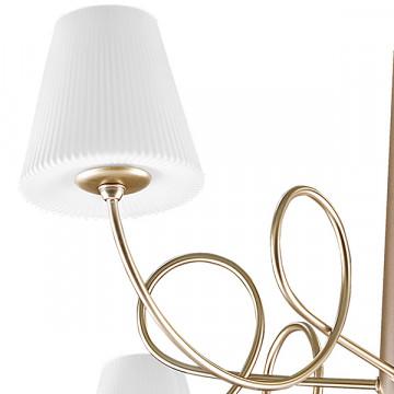 Подвесная люстра Lightstar Vortico 814273, 6xG9x40W + 1xG9x25W, янтарь, белый, металл, стекло - миниатюра 2
