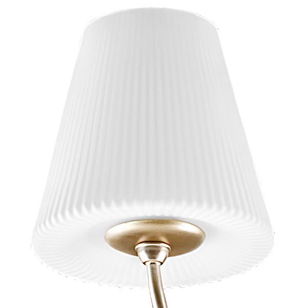 Подвесная люстра Lightstar Vortico 814273, 6xG9x40W + 1xG9x25W, янтарь, белый, металл, стекло - фото 3