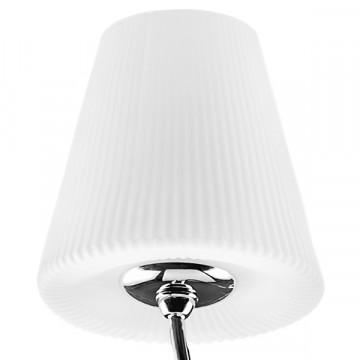 Подвесная люстра Lightstar Vortico 814274, 6xG9x40W +  1xG9x25W, хром, белый, металл, стекло - миниатюра 6