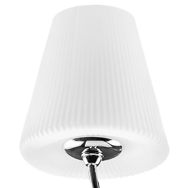 Подвесная люстра Lightstar Vortico 814274, 6xG9x40W +  1xG9x25W, хром, белый, металл, стекло - фото 6