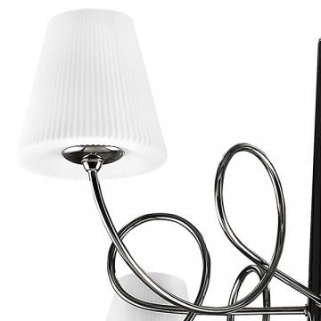 Подвесная люстра Lightstar Vortico 814277, 6xG9x40W + 1xG9x25W, черный, белый, металл, стекло - миниатюра 2