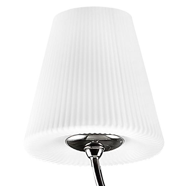 Подвесная люстра Lightstar Vortico 814277, 6xG9x40W + 1xG9x25W, черный, белый, металл, стекло - фото 3