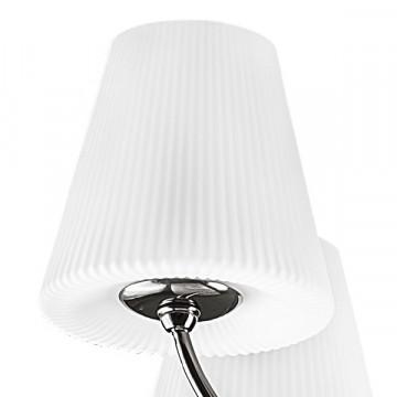 Подвесная люстра Lightstar Vortico 814297, 8xG9x40W + 1xG9x25W, черный, белый, металл, стекло - миниатюра 4