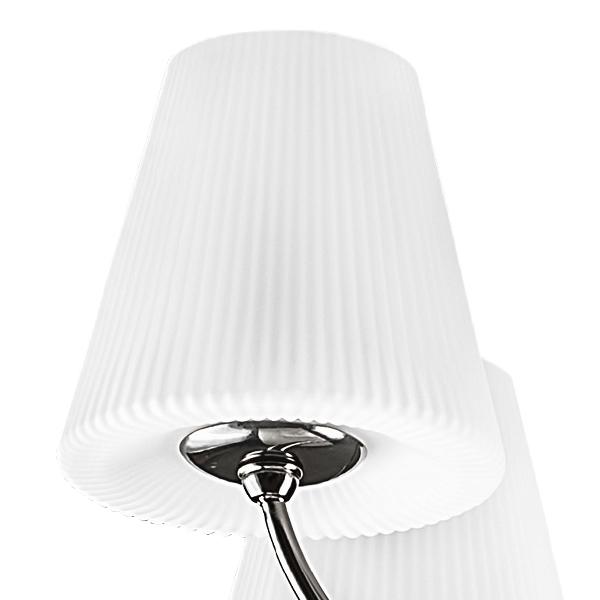 Подвесная люстра Lightstar Vortico 814297, 8xG9x40W + 1xG9x25W, черный, белый, металл, стекло - фото 4