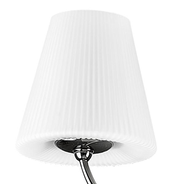 Потолочная люстра Lightstar Vortico 814077, 6xG9x40W + 1xG9x25W, черный, белый, металл, стекло - фото 5