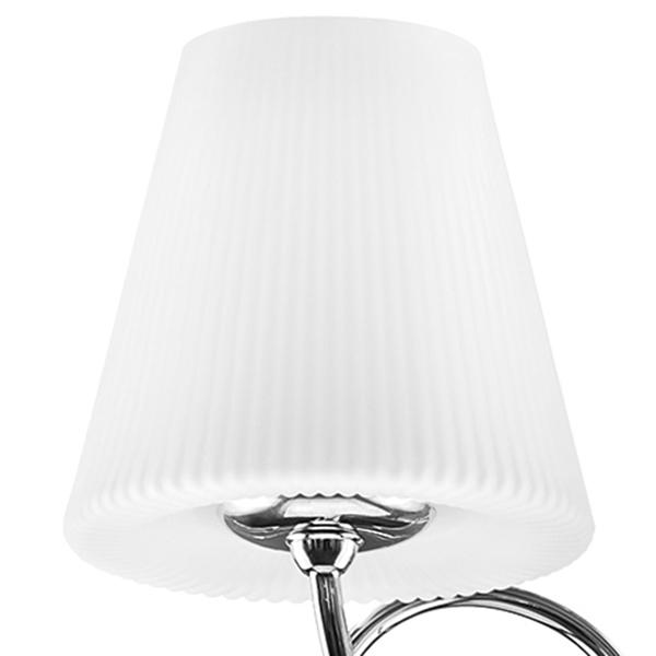 Потолочная люстра Lightstar Vortico 814094, 8xG9x40W +  1xG9x25W, хром, белый, металл, стекло - фото 5