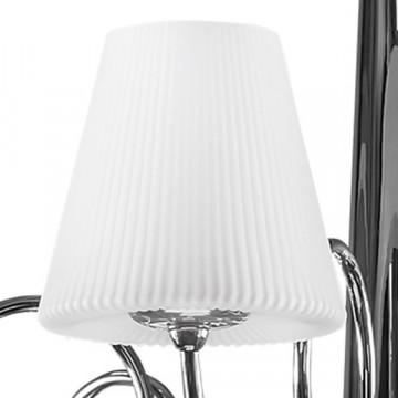 Потолочная люстра Lightstar Vortico 814134, 13xG9x40W, хром, белый, металл, стекло - миниатюра 5