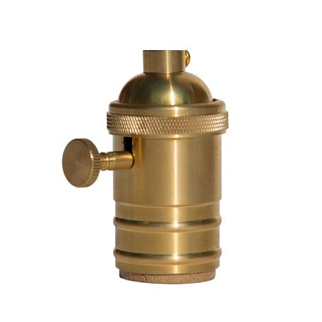 Патрон Loft It Edison Bulb LD4002-9, золото, металл